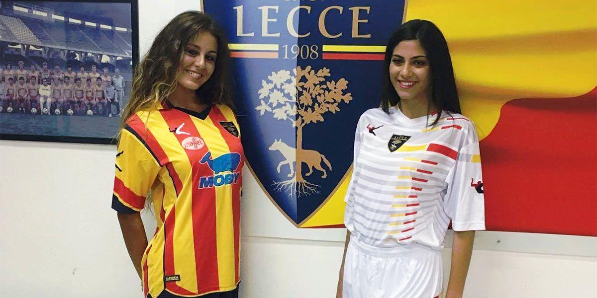 Presentazione maglie Lecce 2016-17