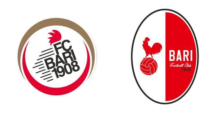 Loghi Bari 2014 e 2016 a confronto