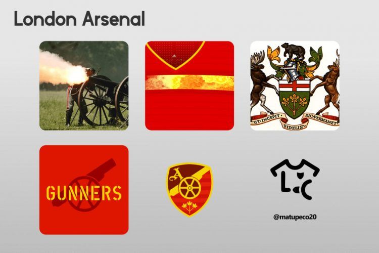 London Arsenal Kit Dettagli