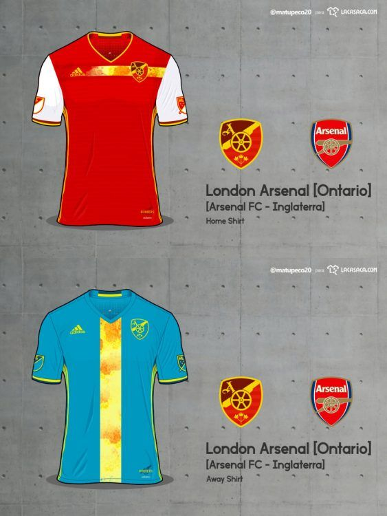 London Arsenal Home Away