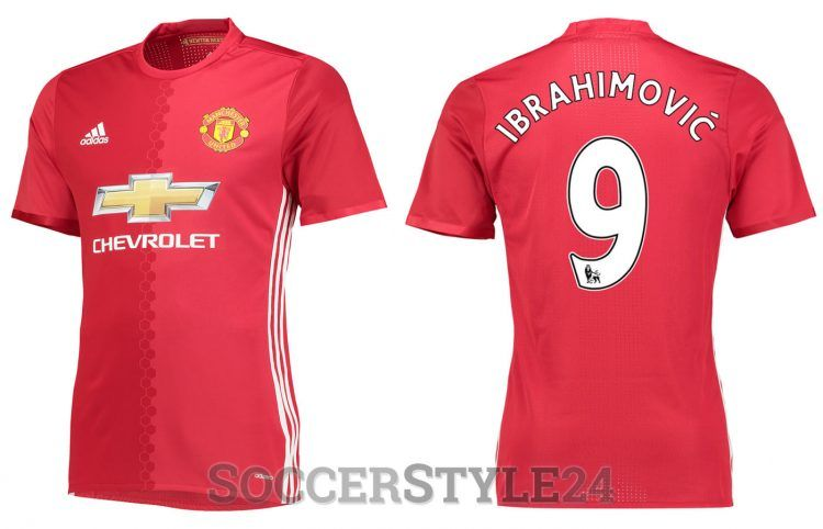 Maglia Manchester United 2016-2017 Ibrahimovic
