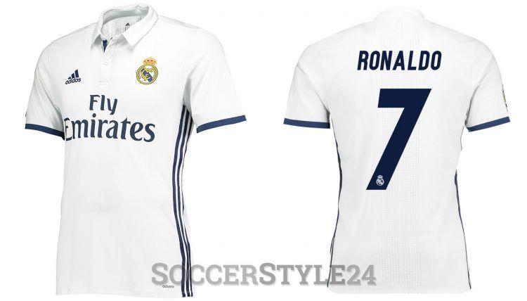 Maglia Real Madrid 2016-2017 adidas