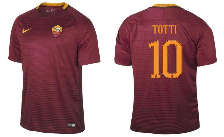 Maglia Roma 2016-2017 Nike