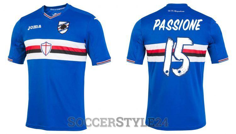 Maglia Sampdoria 2016-2017