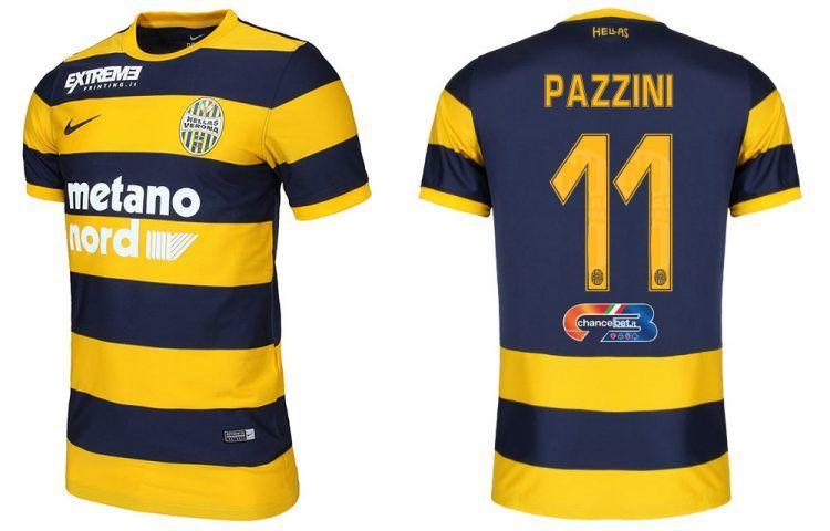 Maglia Hellas Verona 2016-17 Pazzini