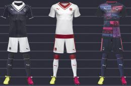 Kit Bordeaux 2016-17 Puma