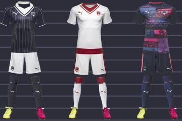 Kit Bordeaux 2016-17 Puma