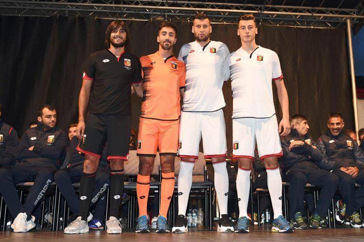 Maglie portiere Genoa 2016-2017