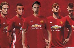 Presentazione maglia Manchester United 2016-17