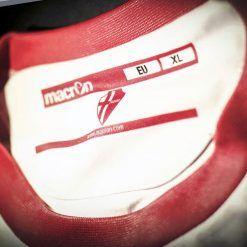 Colletto girocollo rosso maglia Padova