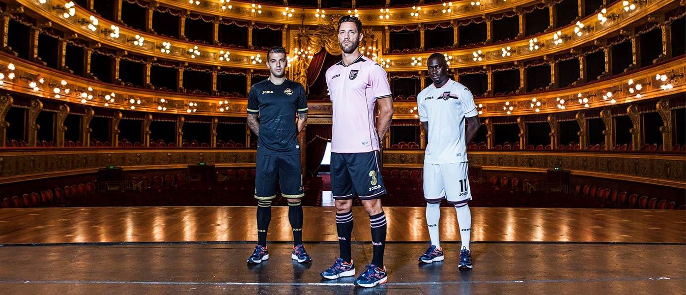 Presentazione maglie Palermo 2016-17 Joma