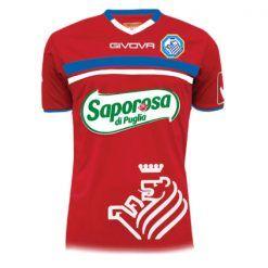 Seconda maglia Fidelis Andria rossa portiere 2016-17