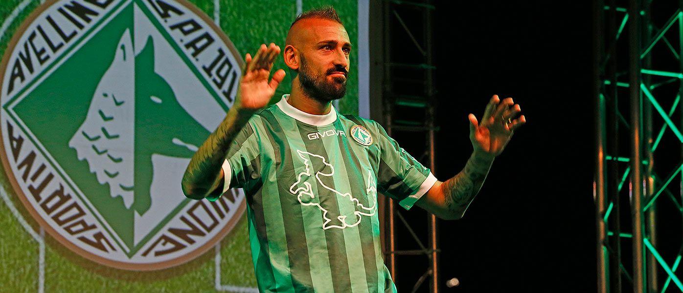Presentazione maglia Avellino 2016-2017