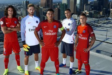 Presentazione maglia away Paris Saint-Germain 2016-17