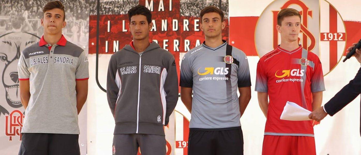 Presentazione maglie Alessandria 2016-2017