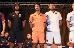 Presentazione maglie Genoa 2016-17