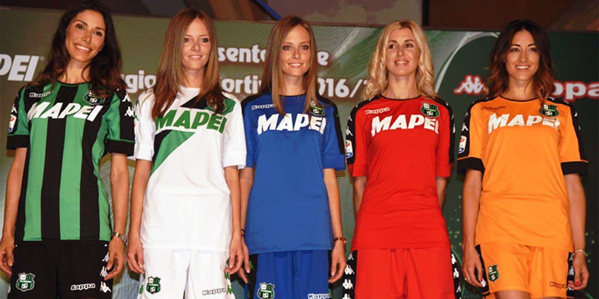 Presentazione maglie Sassuolo 2016-2017