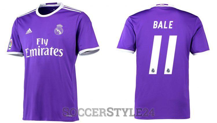 Seconda maglia Real Madrid 2016-2017 Bale