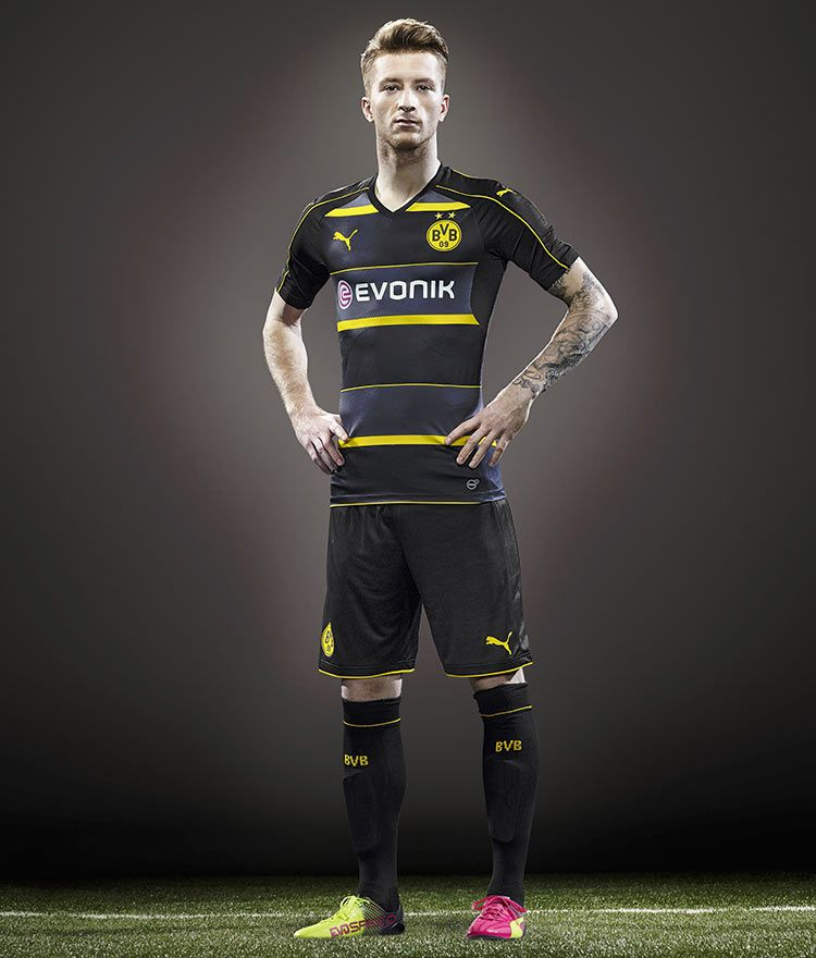 Marco Reus kit trasferta Borussia Dortmund 2016-17