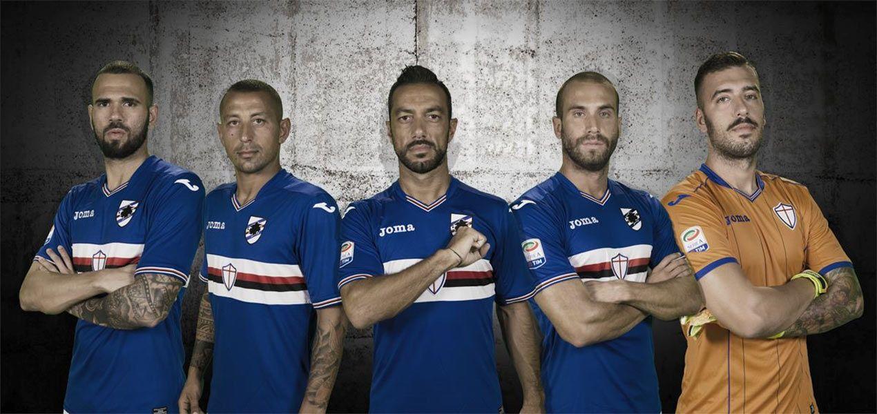 Presentazione maglie Sampdoria 2016-17