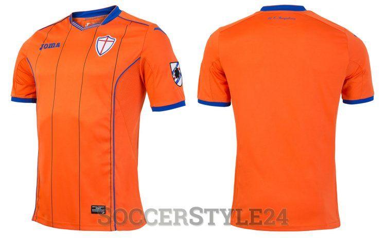 Maglia portiere Sampdoria 2016-2017 arancione