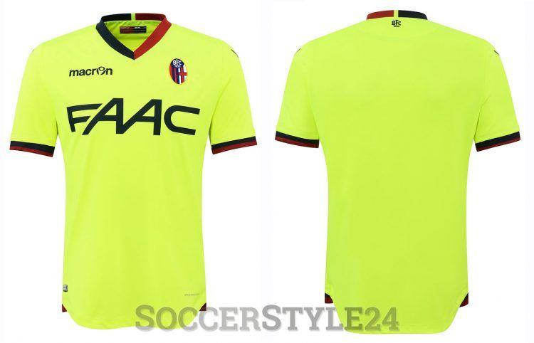 Seconda maglia Bologna 2016-2017 gialla