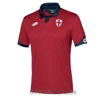 Terza maglia Genoa 2016-17 Lotto