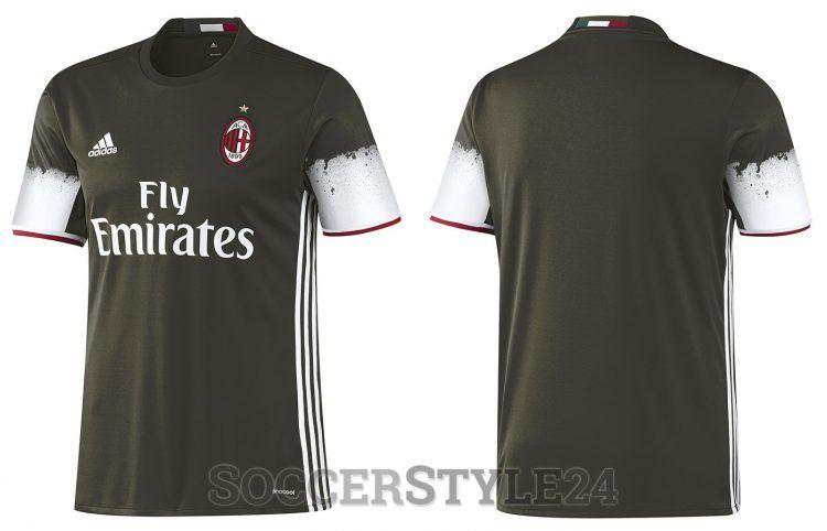 Terza maglia Milan 2016-2017