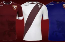 Maglie Torino 2016-17 presentazione