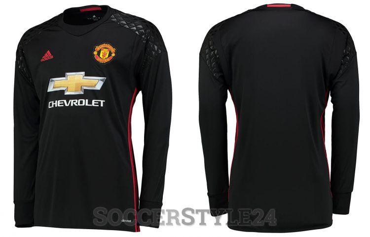 Maglia portiere Manchester United home 2016-17