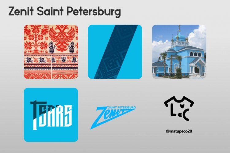 Zenit Saint Petersburg Kit Dettagli
