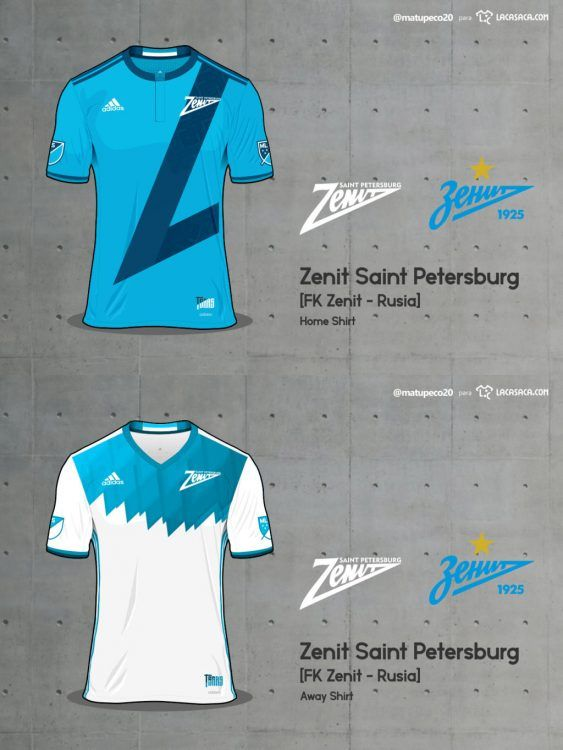 Zenit Saint Petersburg Home Away