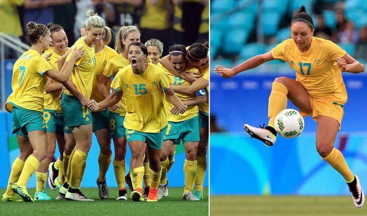 Australia Olimpiadi 2016 maglie calcio