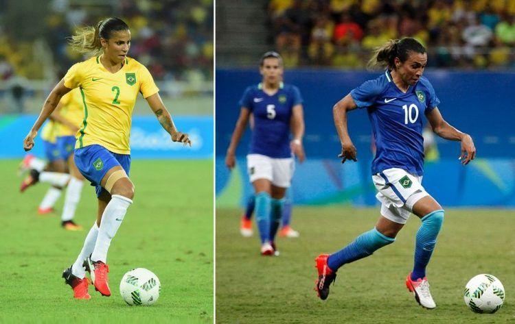 Brasile donne, maglie Olimpiadi 2016