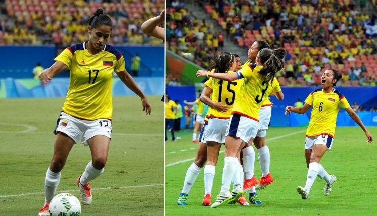 Maglia Colombia donne Olimpiadi 2016 calcio
