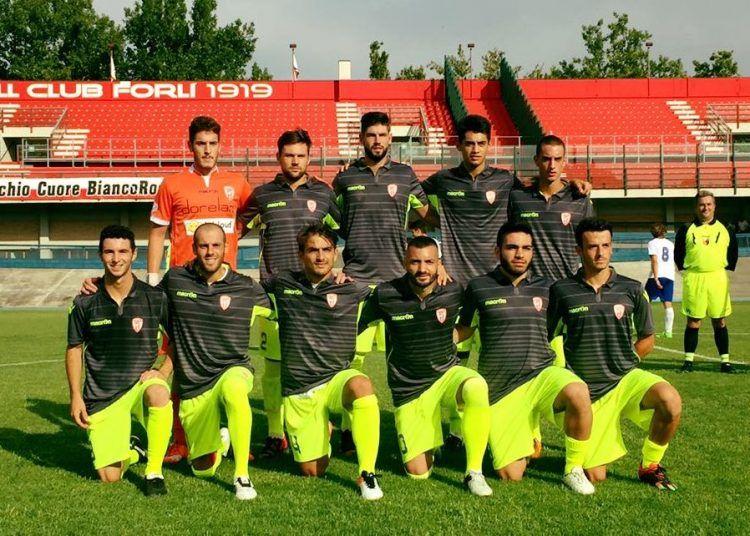 Forlì maglia pre-campionato 2016-17