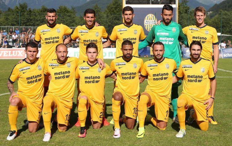 Hellas Verona seconda maglia Nike Serie B 2017