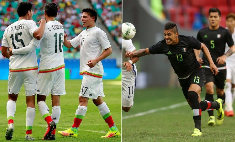 Mexico Rio 2016 football