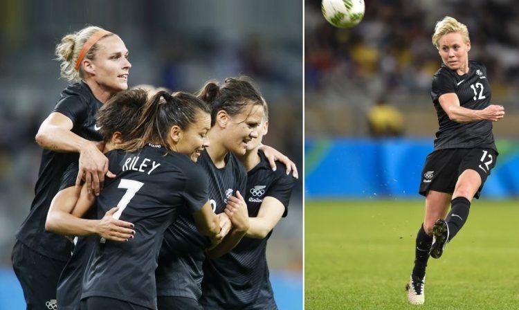 Nuova Zelanda maglia calcio donne 2016
