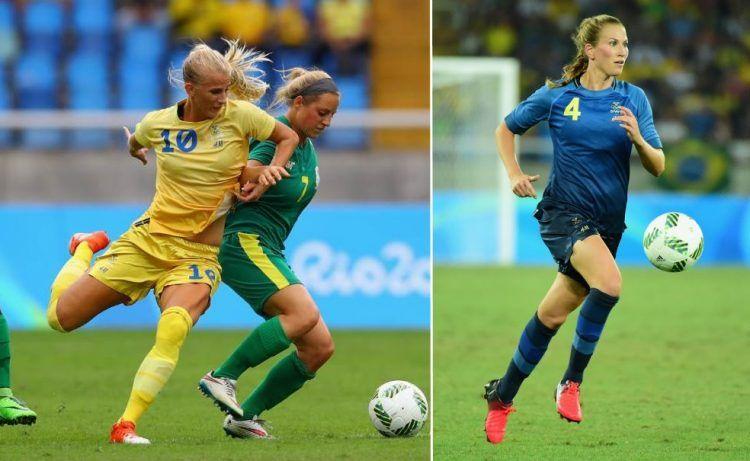 Maglie Svezia donne Giochi Olimpici 2016