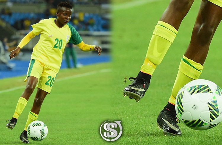 Thembi Kgatlana (Sud Africa) - Nike HyperVenom NJR x Jordan