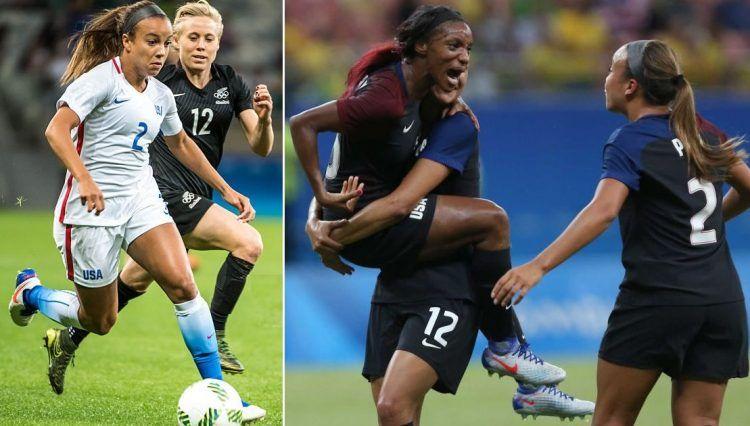 Stati Uniti maglie calcio donne Olimpiadi 2016