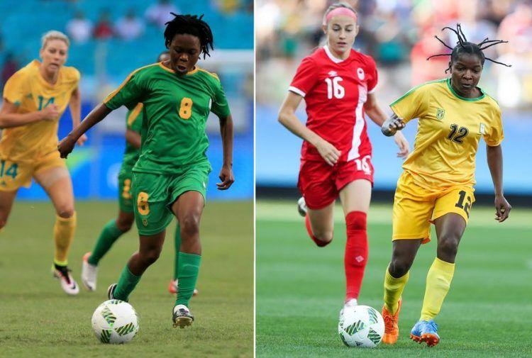 Zimbabwe maglie calcio donne 2016