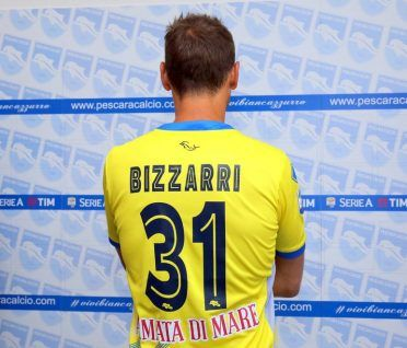 Maglia Bizzarri Pescara away 2016-17