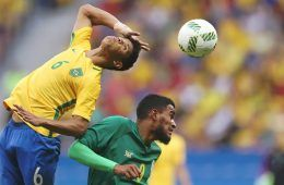 Brasile-Sudafrica Olimpiadi Rio 2016