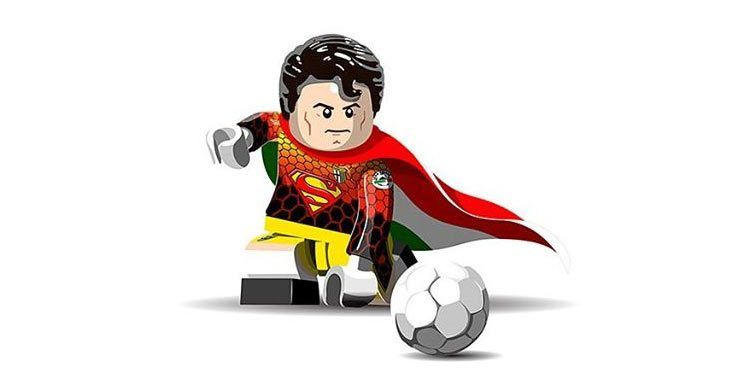 Superman Buffon Lego Parma 1997