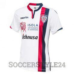 Seconda maglia Cagliari 2016-17 bianca