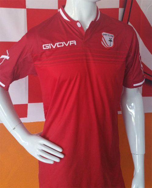 Seconda maglia Carpi 2016-17 rossa