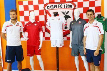 Presentazione maglie Carpi 2016-2017