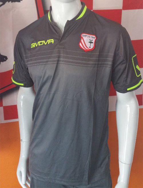 Carpi, terza maglia 2016-2017 grigia